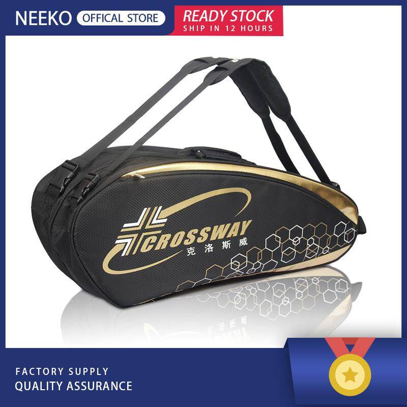 Neeko『ready Stock』badminton Bag 6 Packs Tennis Bag Single Shoulder Bag For Men And Women By Neeko.