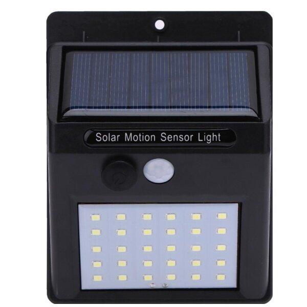 Đèn LED Tường Cảm Biến Chuyển Động Năng Lượng Mặt Trời PIR Đèn Gia Đình Không Thấm Nước Ngoài Trời