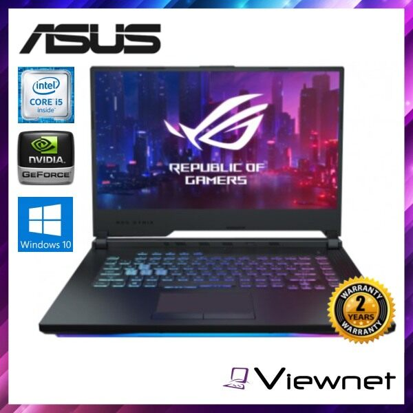 Asus ROG Strix 15.6  FHD Gaming Laptop (G531G-TAL236T), Black, Intel Core I5-9300H, 4GB, 512GB, NV GTX1650, Windows 10 Home Malaysia