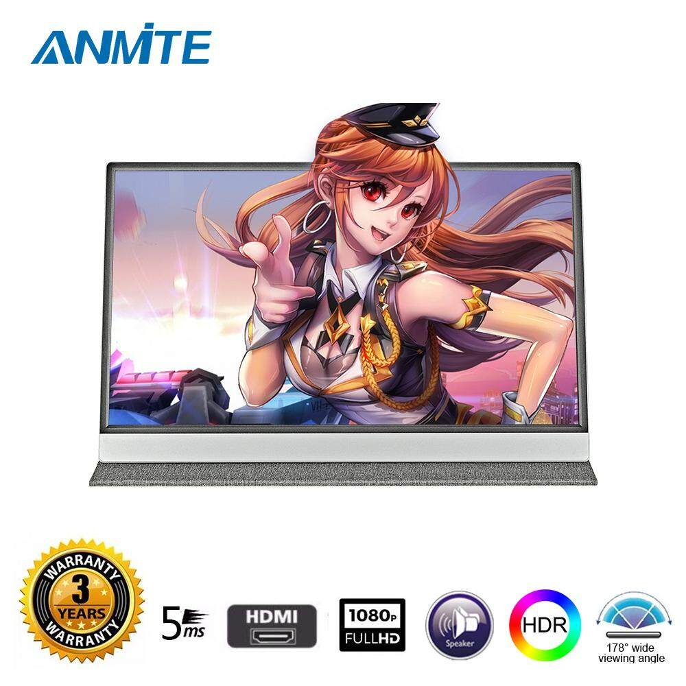 Anmite 15.6IPS FHD Led Portable Touch Monitor Type-c HDMI Ultra-thin USB-C Touchscreen Display Malaysia