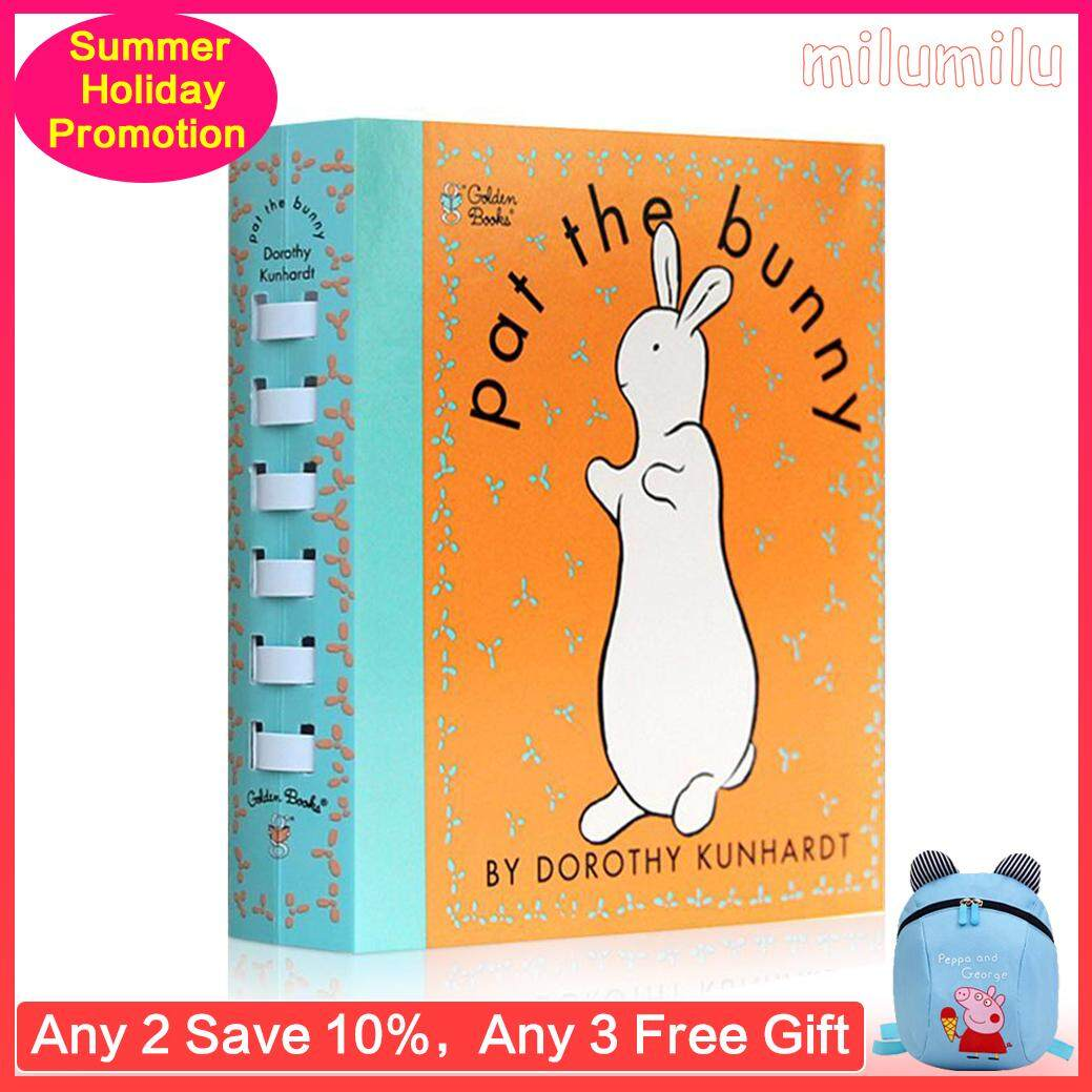 【 Free Audio 】Pat The Bunny Cognitive Touch Book Baby Fragrance Toy Book  Bedtime Story Game Book 0-2-3 Years Old Baby Birthday Present