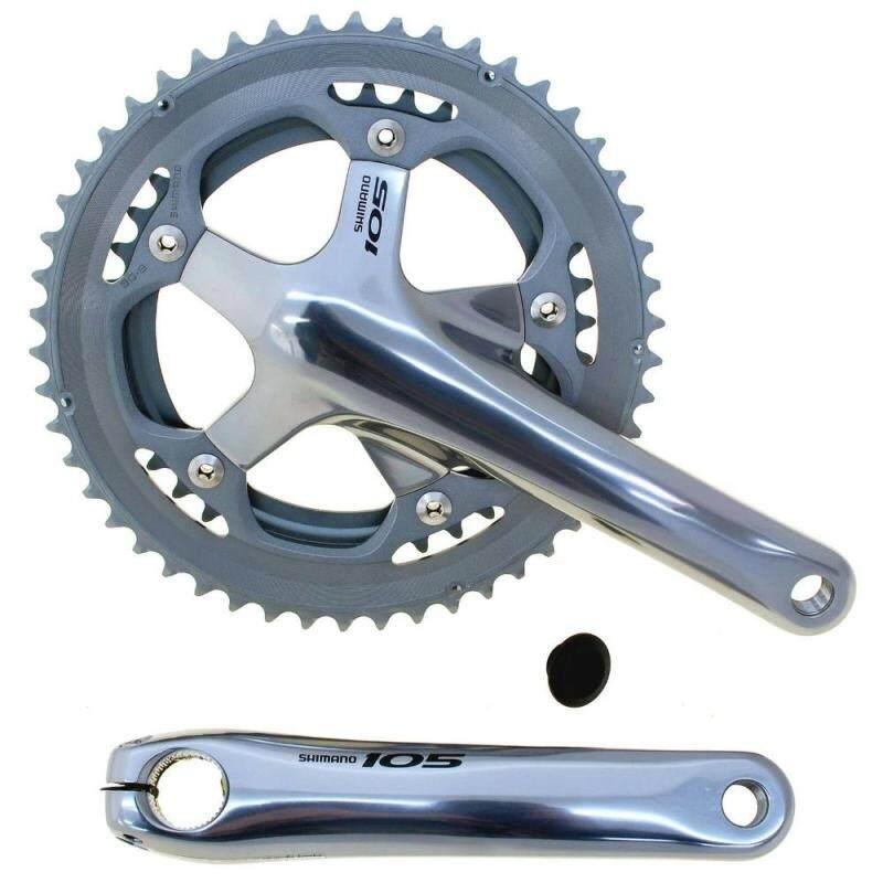 Mua Shimano _ 105 FC 5600 Đôi Chainwheel Bộ Sepeda Sepeda Jalan 2X10 Gir Bàn Đạp Kecepatan 10 Kecepatan 170mm 172.5 Mm 175 Mm