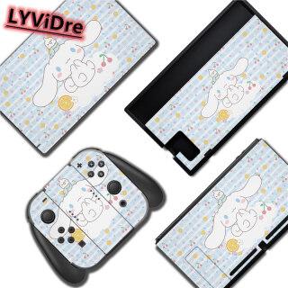 New LYViDre Nitendo Switch NS Miếng Dán Bảo Vệ Hoạt Hình Anime, Cho Nintendo Switch NS Console + Bộ Điều Khiển + Đế Giữ Chân Đế thumbnail