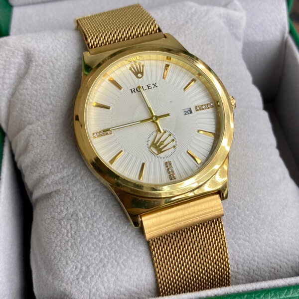 SPECIAL PROMOTION ROLEX_BATTERY UNISEX WATCH NEW ARRIVAL DATE DISPLAY FREE GENUINE GIFT BOX Malaysia