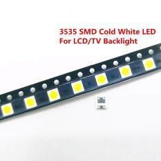 LA 50/100 Chiếc Điốt TIVI Đèn Nền 2 W 6 V/1 W 3 V 3535 SMD LED Televisao Lạnh trắng Nền MÀN HÌNH LCD có Đèn Nền cho TIVI