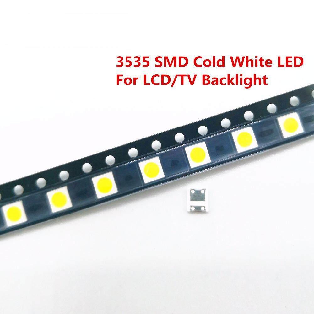 Ds 50/100 Pcs ไดโอดไฟด้านหลังทีวี 2 W 6 V/1 W 3 V 3535 Smd Led Televisao เย็นสีขาวจอแสดงผล Lcd Backlight สำหรับทีวี By Dsstyles.