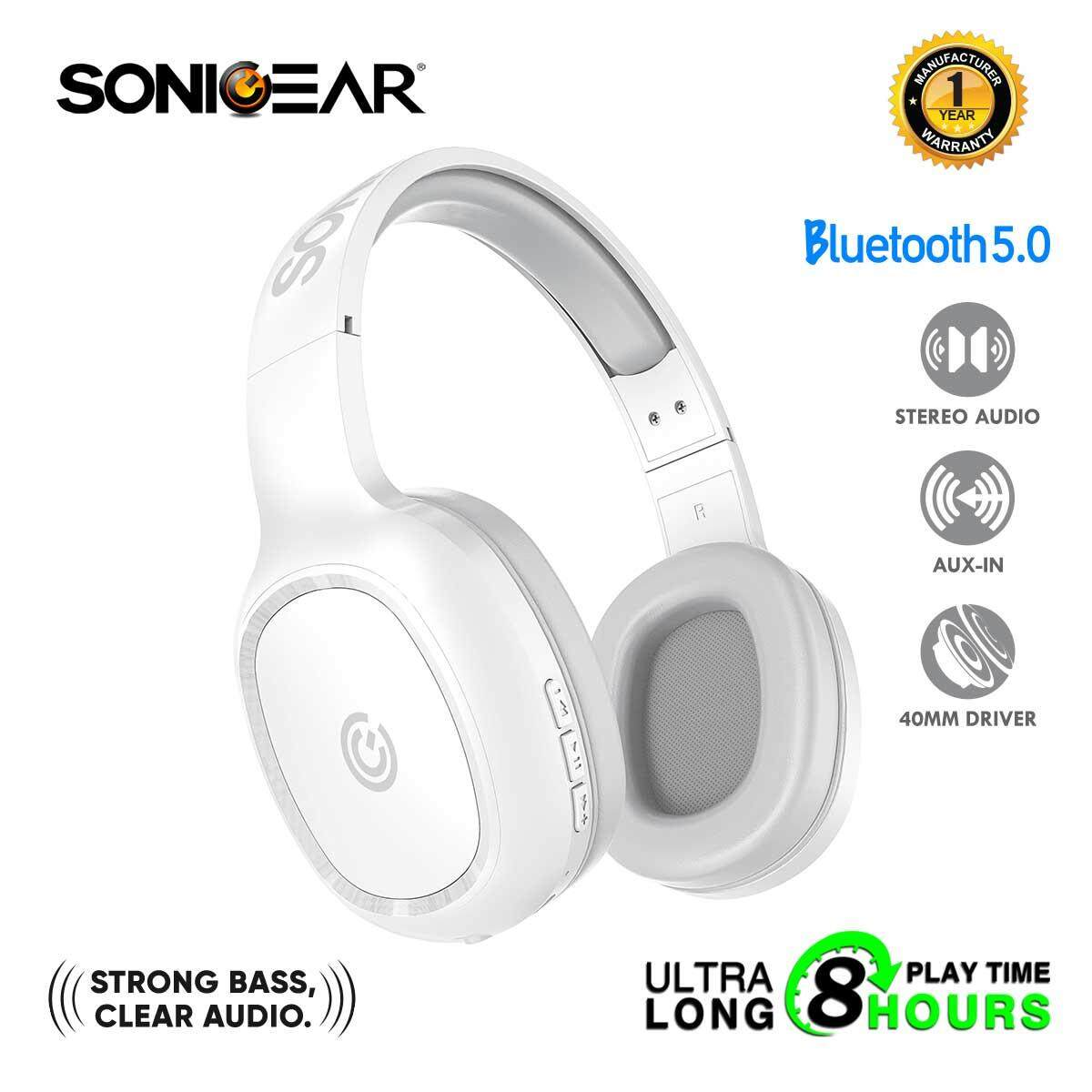 99e13d70cd21ca SonicGear AirPhone 3 Bluetooth Headphones With Mic For Smartphones and  Tablets