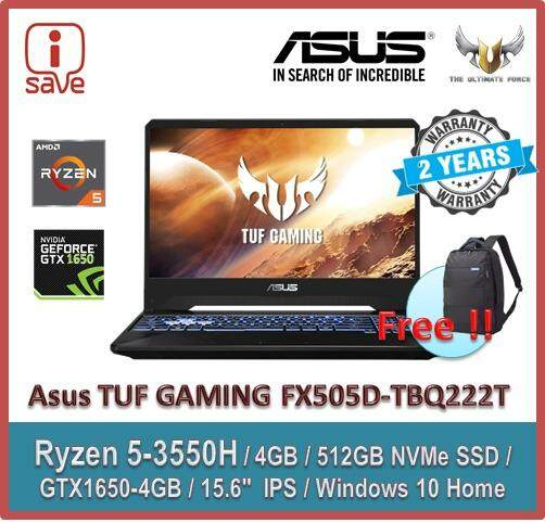 Asus TUF Gaming FX505D-TBQ222T 15.6 FHD IPS Laptop Black Malaysia