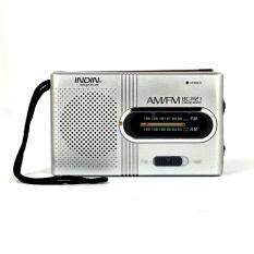 Radio Mini Loa Di Động AM FM Có Thể Điều Chỉnh Ăng Ten Ống Nhòm Túi Radio