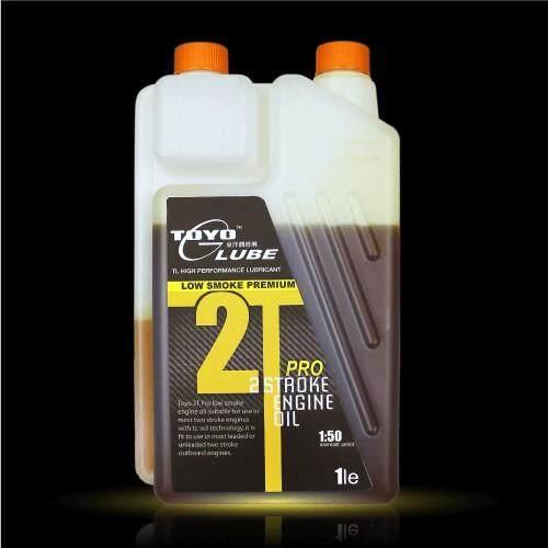 TOYO 2T PRO Low Smoke Premium Minyak Engine Oil 1L