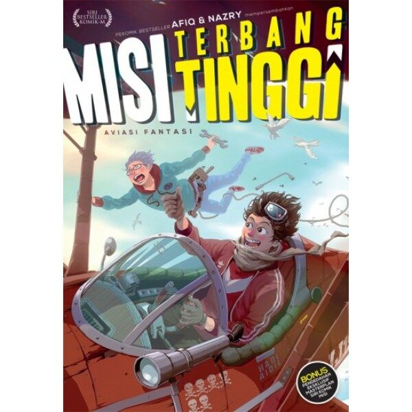Misi Terbang Tinggi #1: Aviasi Fantasi M29/BM21/BM29 Malaysia
