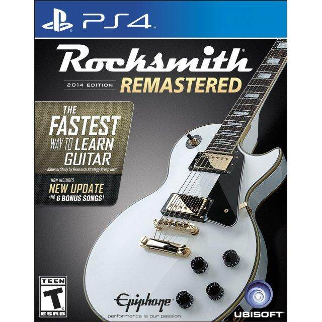 Ps4 Rocksmith Remastered(r1)(english) By My Gameland.