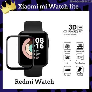 Miếng dán mềm cạnh cong 9D bảo vệ toàn màn hình chống trầy xước dành cho đồng hồ thông minh Xiaomi Mi Watch Lite thumbnail