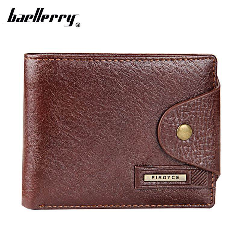 2019 New Brand Short Mens Wallet Genuine Leather Purse for Male Coin Purse