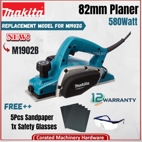 [CORATED] Makita M1902B 82MM (3-1/4 ) Planer (1 Year Warranty) M1902G