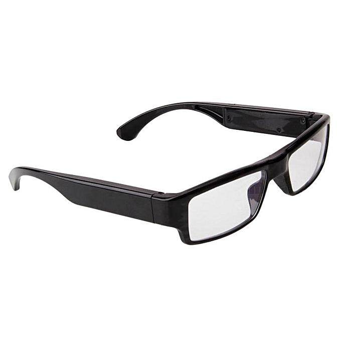 Mini HD 720P Glasses Hidden Eyewear Camera Security Cam DVR Video Recor (Black ) JY-M