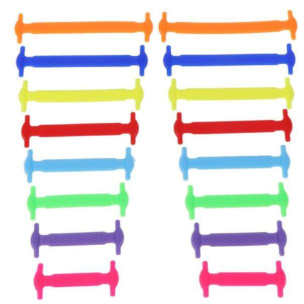 WED750 Elastic Shoelaces Silicone Rubber Shoelaces No Tie Running Shoes Sport Shoes giá rẻ