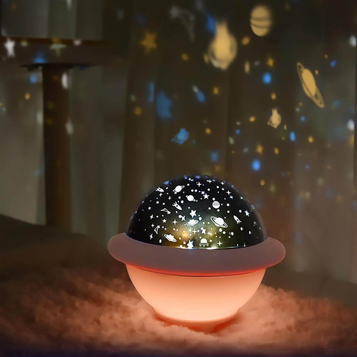 Ufo Star Projector Lamp Starry