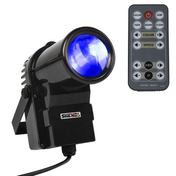 Đèn Pin Mini 10W Điều Khiển Từ Xa Không Dây Đèn LED Chiếu Điểm RGBW 4 Trong 1, 8 CHs DMX512 Tiệc Khiêu Vũ Vũ Vũ Vũ Trường Tiệc Cưới Tại Nhà DJ