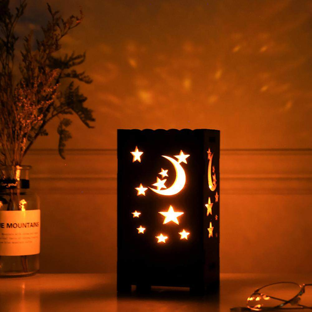 Techtopest-Star Moon Projection Lamp Night Light With Timer Auto Shut-Off for Kids Bedroom Projector Night Light