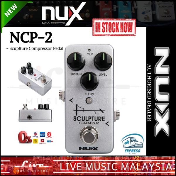 NUX NCP-2 Sculpture - Mini Compressor Pedal (NCP2) Malaysia