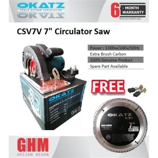 Okatz CS7V 7 Circular Saw FREE 7 Saw Blade