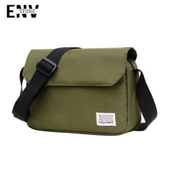 ENV กระเป๋าสะพายข้างผู้ชายผ้าแคนวาสแบรนด์ไทด์สบาย ๆ กระเป๋าสะพายข้างญี่ปุ่นทั้งหมด