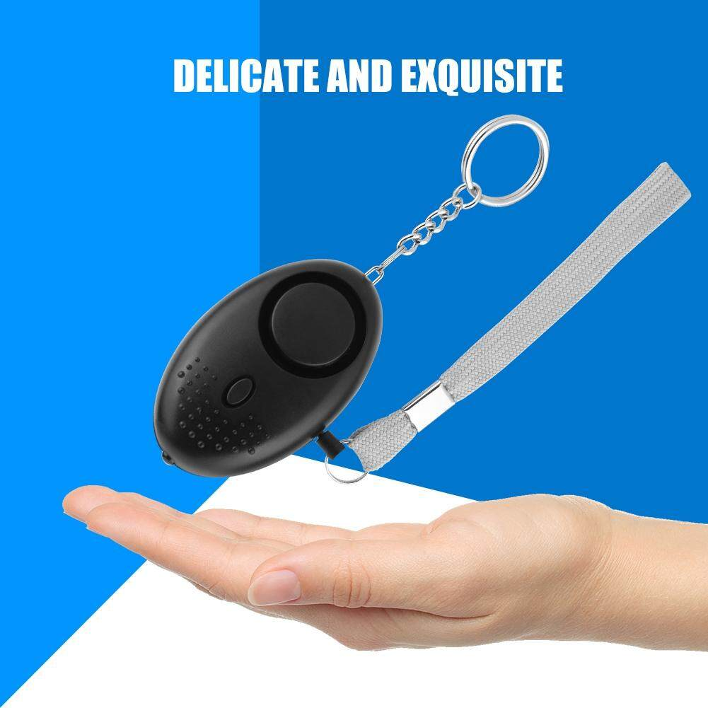 Personal Security Alarm Emergency Self Defense Alarm Key Chain LED Light 130dB