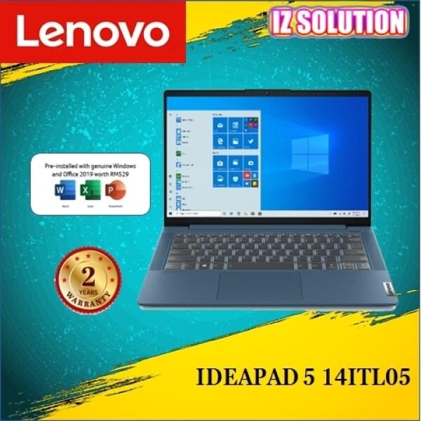 LENOVO IDEAPAD 5 14ITL05 82FE00D7MJ 14 FHD LAPTOP Abyss Blue ( I5-1135G7/8GB/512GB/MX450/W10 ) Malaysia