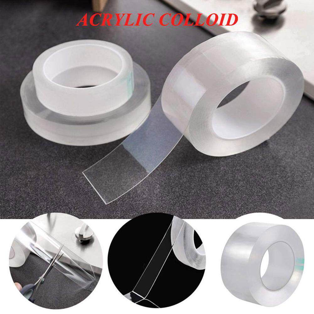 G&B Good Breeze Waterproof and Mildewproof Tape Clear Self Adhesive Tape Roll Acrylic Caulk Tap Sealing Tape, Toilet Kitchen and Wall Sealing