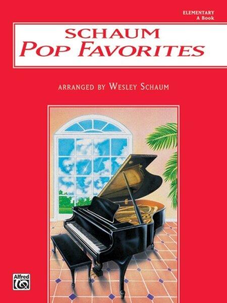 Schaum Pop Favorites Book A (Elementary) MUSIC BOOK Malaysia