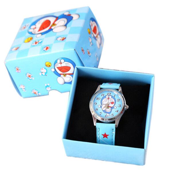 Đồng Hồ Hộp Doraemon Cho Trẻ Em, Đồng Hồ Đeo Tay Sinh Nhật Dây Da Dễ Thương Chống Nước Phong Cách Thường Ngày Cho Bé Trai Bé Gái Quà Tặng Sinh Nhật Cho Bé Trai Bé Gái bán chạy