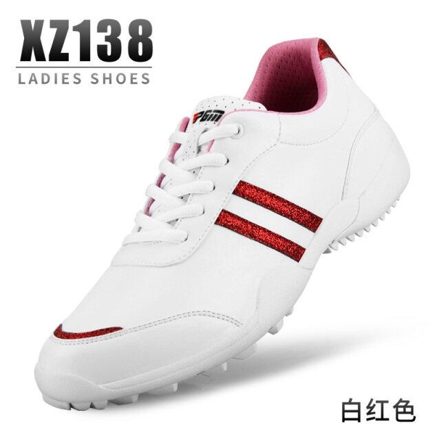PGM Giày Golf Phong Cách Mới, Giày Chơi Golf Đế Chống Trượt Đinh Cố Định Cho Nữ, Không Thấm Nước Thoải Mái Và Thoáng Khí Sợi Nhỏ Da giá rẻ
