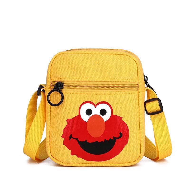 Girl Cute Cartoon Bag Sesame Street Shoulder Bag Sling Bag Crossbody Bag Girl Travel Bag Kids Bag Sling Bag