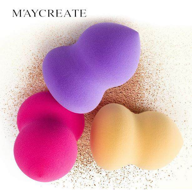 Maycreate Makeup Sponge Women Pro Beauty Flawless Egg Puff Tool By Random By T & T Online Shop.