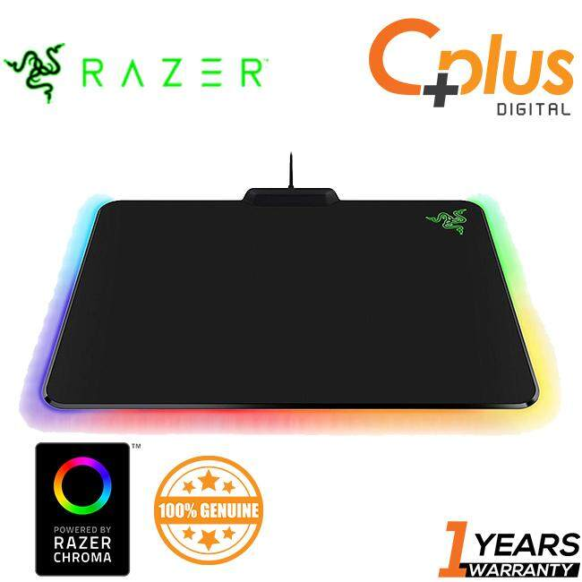 Razer Firefly Chroma RGB Cloth Edition - Textured Weave Design - Non-Slip Rubber Base, Gaming Mouse Mat Malaysia