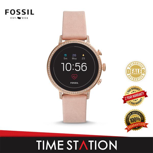 Fossil Venture Gen 4 HR Blush Leather Womens Smart Watch FTW6015 Malaysia