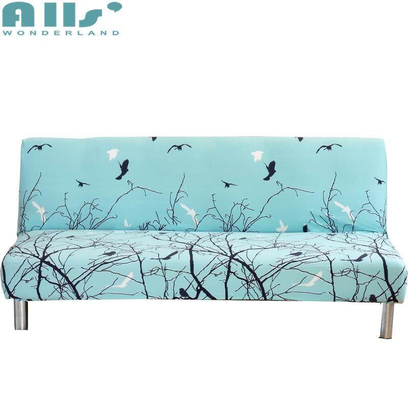 【Cover】fit untuk Kasur Sofa Antara 160-190 Cm Tanpa Lengan Pelindung Sofa Mencakup untuk Ruang Tamu Sarung Sofa Sarung Penutup Elastis