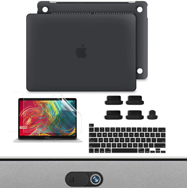 Catcher MacBook Pro New 2020 Release 13 inch Case Model A2289 A2251 Plastic Hard Shell  (Black)Suit