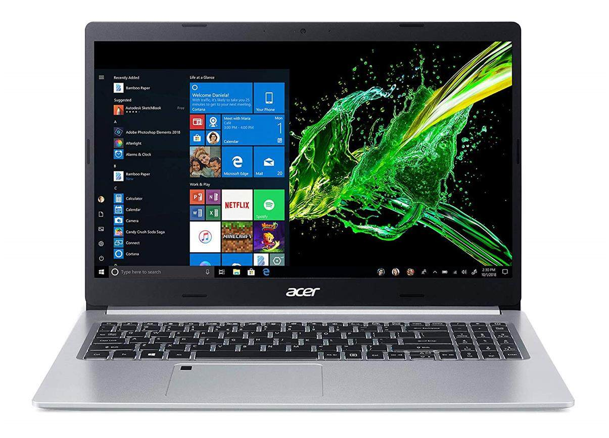 Acer Aspire 5 Slim Laptop, 15.6 Inches FHD IPS Display, 8th Gen Intel Core i5-8265U, 8GB DDR4, 256GB SSD, Fingerprint Reader, Windows 10 Home Malaysia
