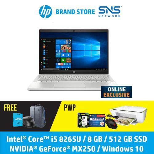 *ONLINE EXCLUSIVE* NEW HP Laptop Pavilion 14-ce2089TX 14 FHD (i5-8265U 512GB SSD 8GB NVIDIA MX250 2GB W10) - Tranquil Pink [FREE] HP Backpack + F-Secure 1Year Client Security + HP Wireless Mouse[Redeem MS Office 365 Personal worth RM499-20 Dec-15 Feb 20*] Malaysia