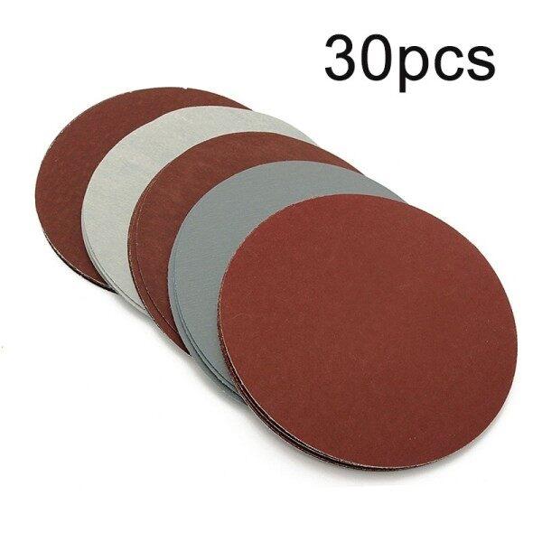 Abrasive Sanding papers 30pcs 125mm 800-3000 Grit Woodworking Finishing Detailing Sander Useful