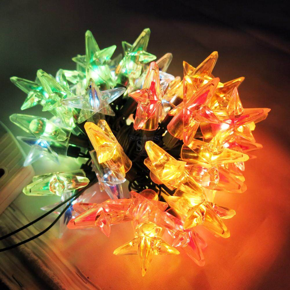 50lite 3 Meters Star Shape Christmas Lite - Multi By Sp Online..