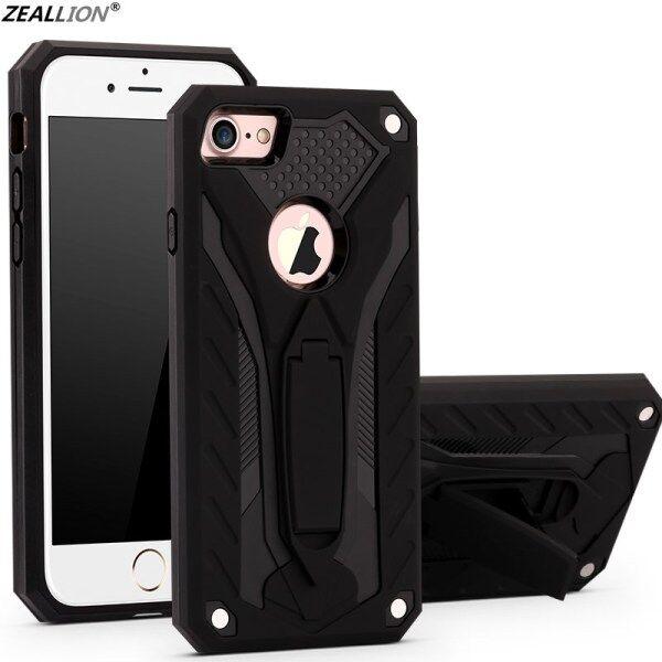 Ốp Zeallion Cho Apple iPhone SE 5 6 6S 7 8 Plus X XR XS 11 Pro Max Ốp Điện Thoại Phantom Knight Chống Rơi Ốp Lưng Cứng PC Mềm TPU Chắc Chắn