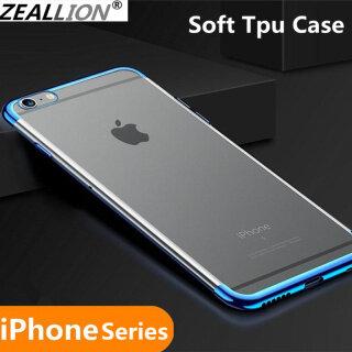 Ốp Zeallion Trong Suốt Siêu Mỏng TPU Mềm Mại Cho iPhone 6 6S 7 8 Plus X XR XS 11 12 Pro Max - INTL thumbnail