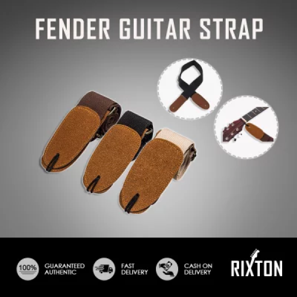 Adjustable Guitar Belt Woven Cotton Guitar Leather Strap for Electric Acoustic Folk Guitar Accessories Malaysia