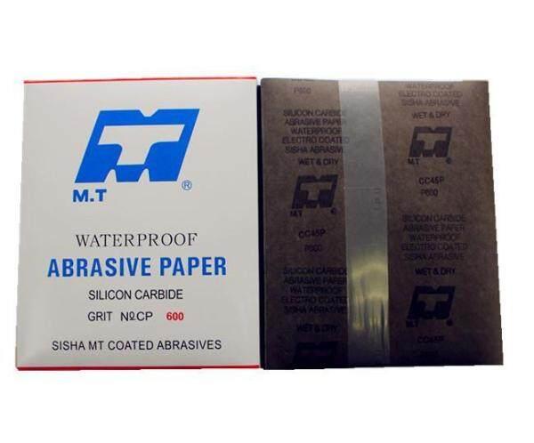 M.T. Silicon Carbide Waterproof Sand Paper Kertas Pasir