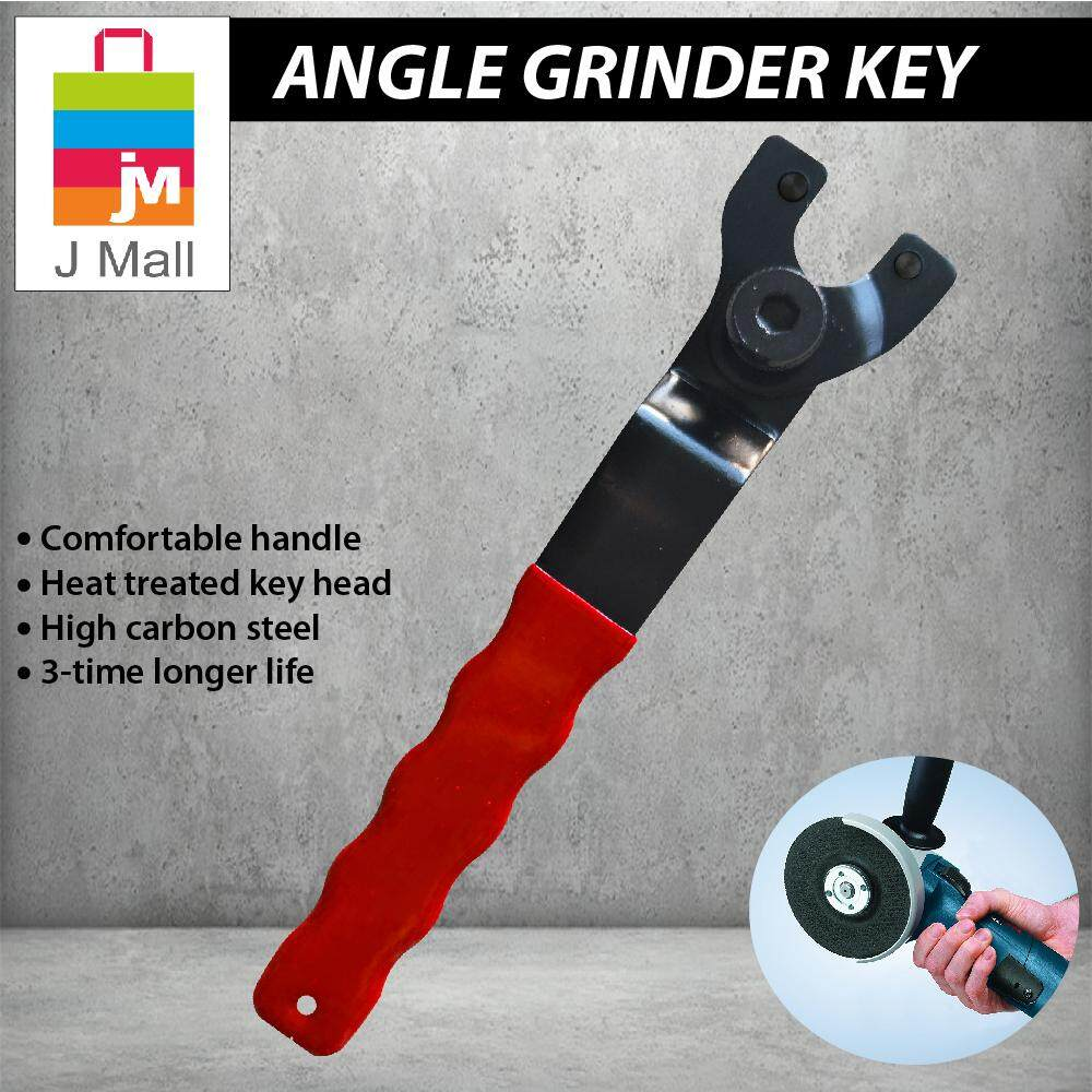 JMALL Angle Grinder Key Pin Spanner Plastic Handle Wrench Spanner Repair Tool 4 -9