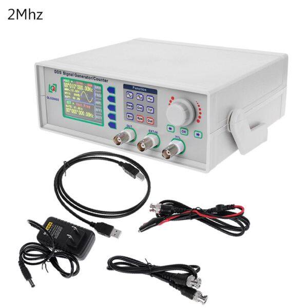 DDS Function Signal Generator Counter Signal Source Frequency Meter Pulse Generator Synthesizer QLS2800S 2MHz / 5MHz Malaysia