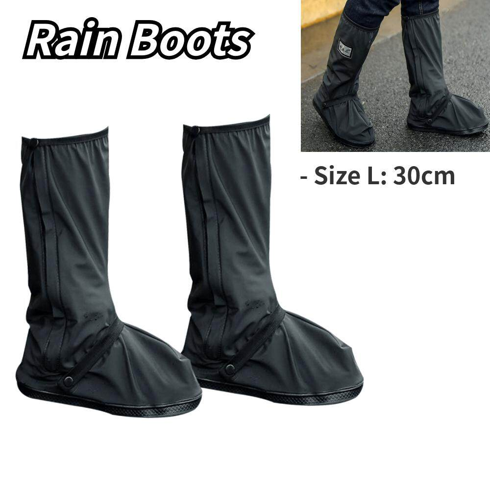 Rain Boots Rain Shoes Cover Waterproof Overshoes for Women Men Protector Reusable Boot Covers Rainy Day